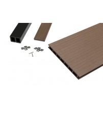 Alt Braun WPC Terrassendiele (250mm)